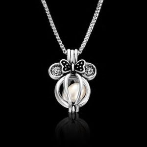 Jewelry - New Silver Minnie Mouse Cage Necklace